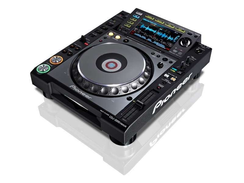 Pioneer CDJ-2000NXS - DVD/CD/MP3/USB/SD DJ-проигрыватель